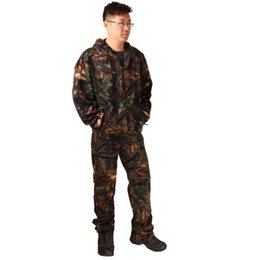$enCountryForm.capitalKeyWord UK - Realtree Bionic Camouflage Hunting Suit Men Fleece Thermal Tactical Hunting Clothing Jacket Pant Set Breathable Outdoor Costume