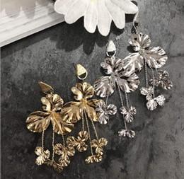 Vintage copper earrings dangle online shopping - Best lady Retro Fashion Alloy Gold Silver Plated Statement Earrings Punk Style Party Women Jewelry Vintage Drop Dangle Earrings
