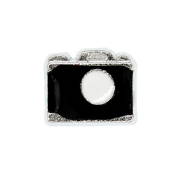 imitation cameras Canada - 30pcs lot free shipping camera good quality alloy DIY floating charms for glass living memory lockets