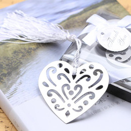 gifts for guests NZ - Quevinal Bulk My Heart Bookmark Party Favours Souvenirs First Communion Birthday Baby Shower Wedding Favors and Gifts For Guest