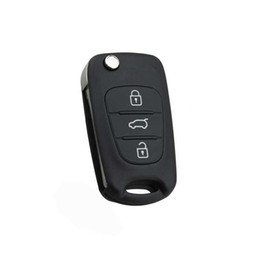 remote systems Australia - Car Replace Flip Key Shell fit for KIA K2 K5 Remote Case Fob Uncut Blade 3 Buttons
