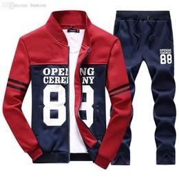 15014dcdfcad Wholesale-Tracksuit Mens Set 2018 Summer Sportswear Casual Brand Men Shorts  Sets Short Sleeve Sweatshirt+Pants Sweat Suit Sudaderas Hombre