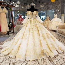 $enCountryForm.capitalKeyWord NZ - 2019 Saudi Arabia Luxury Wedding Dresses Sweetheart V Strapless Neck Backless Long Tulle Sleeve Illusion Neckline Crystal Bridal Gowns