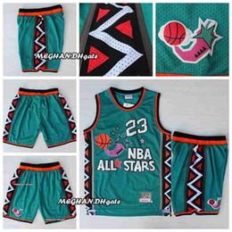1996 All-Star Hot Sale Basketball Short Men 23 New Breathable Sweatpants 1996  all Star Sportswear North Carolina Tar Heels Basketball Shorts 396b4c362