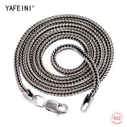 4dd144be75b0 1.6MM hombres de plata tailandeses cadena 925 collares de cadena de la serpiente  de plata esterlina para hombre joyería fina para hombre 16    - 32
