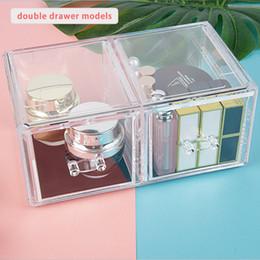 $enCountryForm.capitalKeyWord NZ - Makeup Organizer Storage Box Acrylic Make Up Organizer Cosmetic Makeup Storage Drawers Organiser