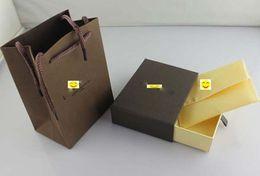 Bracelet Famous Brands NZ - Fashion Top grade famous brand L letter bracelet&bangles original bags jewelry gift box