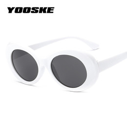 Discount kurt cobain sunglasses - YOOSKE Clout Goggles NIRVANA Kurt Cobain Round Sunglasses For Women Men Brand Designer Glasses Retro Sun Glasses UV400 E