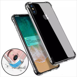 $enCountryForm.capitalKeyWord NZ - Air Cushion Anti-knock Soft TPU Case Transparent Full Protective Shockproof Cover For iPhone X XS MAX XR 8 7 6 plus samsung S9 S8 note 9