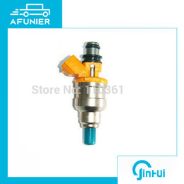 mazda wholesale NZ - 12 months quality guarantee fuel injector nozzle for Nissan,Mazda,Toyota,subar u OE No.195500-2170