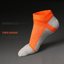 $enCountryForm.capitalKeyWord NZ - 2018 New Men's Five Fingers Socks Spring Autumn Leisure Medium Thick Cotton Sports Socks Male Ankle Length Sockings[3 pcs $9]