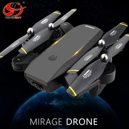 Wifi Electric Australia - FLY S169 Foldable Drone With WiFi HD Double camera FPV Wide Angle Optical Flow Positioning Portable RC Quadcopter