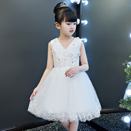 $enCountryForm.capitalKeyWord NZ - Children's wedding dress, princess dress, summer dress, children's dresses, foreign air dresses, ponchos and gauze in spring and autumn