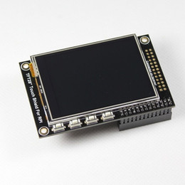 "Tft Speakers NZ - Freeshipping 2.8"" TFT LCD expansion display touchscreen for Raspberry Pi B+  B Board"