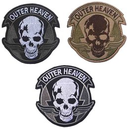 High Quality Backpack Brands Australia - Brand New OUTER HEAVEN High Quality Delicate Embroidery Badge Clothing Backpack Bag Cap Sewing Applique Encouraging Morale Tactical Armband