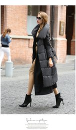 Goose Down Long Parka Australia - 2019 Women's Designer Coat Winter Long Style Down Jacket Goose Down Warmth and Fashion Coexist Parkas for Female XS-XXL