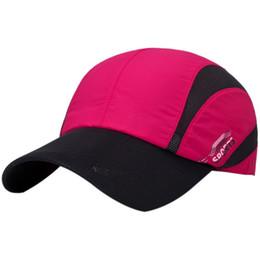 e9f2cdedc420ef Patchwork Mesh Baseball Cap Summer Men's Caps Adjustable Hat Unisex Fishing Caps  Cotton Casual Hat 8 Colors Workout One Size