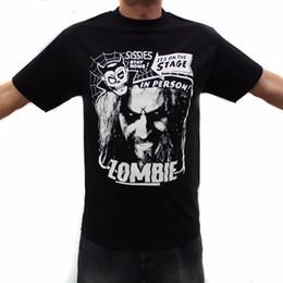 $enCountryForm.capitalKeyWord NZ - Funny T Shirts Online Crew Neck Men Short-Sleeve Compression Rob Zombie Metal Band Graphic T-Shirts Men Tee T Shirts