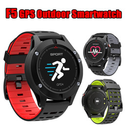 Thermometer Red Canada - NEW No.1 F5 GPS Smart watch Altimeter Barometer Thermometer Bluetooth 4.0 Smartwatch Wearable devices for iOS Android