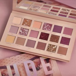 Wholesale HOT beauty Makeup palette New NUDE colors Eyeshadow Palette matte shimmer DHL