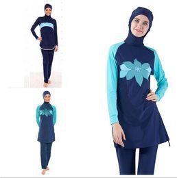 81e3c25086 Muslim Swimwear Islamic Women Modest Hijab Plus Size Burkinis Wear Swimming  Bathing Suit Beach Full Coverage Swimsuit
