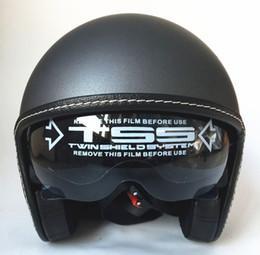 Vintage Motorcycle Helmet Xxl Canada - Mens womens half Motorcycle helmet hally vintage helmets America Captain star moto helmets size 55-64cm S L XL XXL