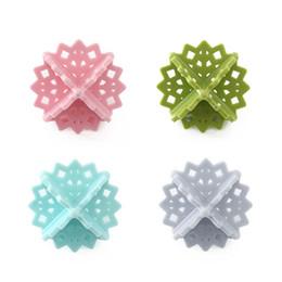 Chinese  4Pcs lot Laundry Balls Decontamination anti winding Washing Machine Ball Wash Laundry Dryer Fabric Soften Helper Cleaner manufacturers