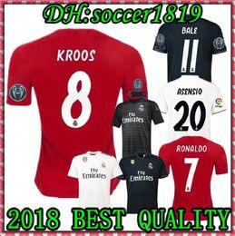 e7057fa5e Real madrid 2019 ASENSIO BALE ISCO Home away 3rd soccer jersey RAMOS  BENZEMA shirt 2018 Camiseta real madrid football kit jerseys Man