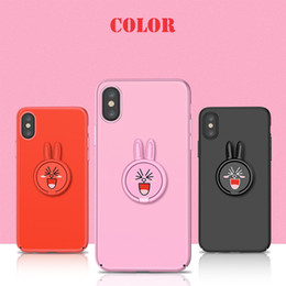Car phone holder Cute online shopping - Hot Sale Cute Rabbit Phone Holder Ring Super Magnetic Car Phone Stand Mount Mobile Phone For iPhone Samsung Smartphone