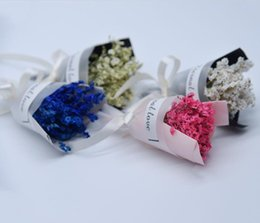 Custom lipstiCk online shopping - Lipstick cosmetics with hand made dried flowers crystal grass mini bouquets activities gifts gifts custom