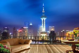 3d papel de parede personalizado qualquer tamanho mural papel de parede noite shanghai 3d cidade cena completa estéreo full house tv home decor sala de estar revestimento de parede