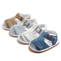 $enCountryForm.capitalKeyWord NZ - 1 Pairs Kids Baby Girls Boys Summer Kawaii Solid First Walkers Newborn PU Baby Toddlers Shoes Children
