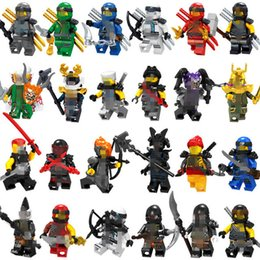 2018 New Ninjagoed Movie Figures Sets Lloyd Kai Jay Cole Zane Nya Snake Dragon Motorcycle Building Blocks Toys