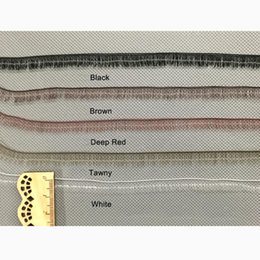 $enCountryForm.capitalKeyWord Canada - 2PCS BJD Eyelashes for  Black Brown White Tawny Eyelashes 0.8cm Width Dolls EYE Lashes DIY Accessories