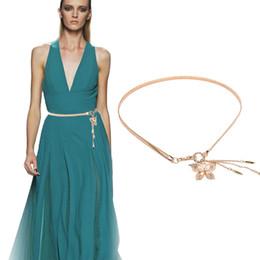 $enCountryForm.capitalKeyWord UK - 200PCS   LOT Women Meatal Chain Belt Fashion Elastic Stretch Waist Strap Ceinture Ladies Elegant Accessories for Dress