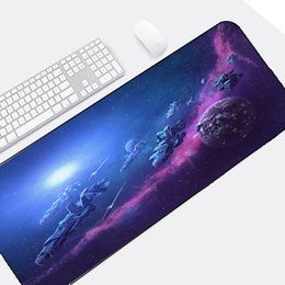Space beautiful online shopping - Congsipad So Beautiful Universe Space Fleet Nebula Scenery super Big Size x900MM for Pc Computer Notebook Table Desk Mat Pad