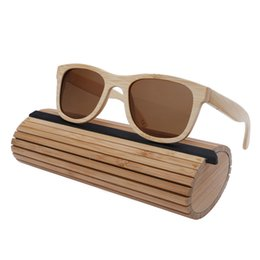 $enCountryForm.capitalKeyWord UK - 2018 Womens Mens Bamboo Wooden Sunglasses natural bamboo eyewear With Coating Mirrored UV 400 Protection Lenses