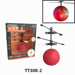 $enCountryForm.capitalKeyWord UK - Colorful Flying Ball LED Flashing Infrared Induction Helicopter Disco Magic Stage Lamp for Kid 2 Styles Free Shipping