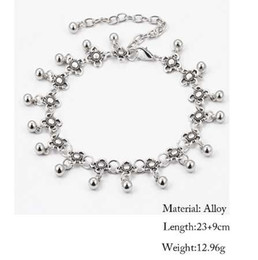 $enCountryForm.capitalKeyWord UK - IF YOU Hot Vintage Bracelet Foot Jewelry Pulseras Retro Anklet For Women Girl Ankle Leg Chain Charm Bracelet Fashion Jewelry