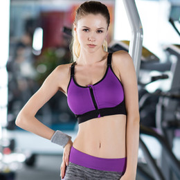 dc671008e0 2018 Women Professional Sports Yoga Bra With Pads Female Fitness Running  Tank Top Bras Quick-drying Women Gym Body Building Bra S M L