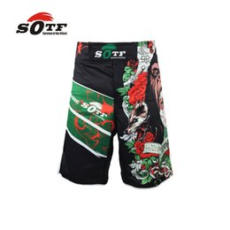 thai box shorts NZ - Wtuvive Mma Boxing Sports Fitness Personality Breathable Loose Large Size Shorts Thai Fist Pants Running Fights Cheap Mma Shorts 2018