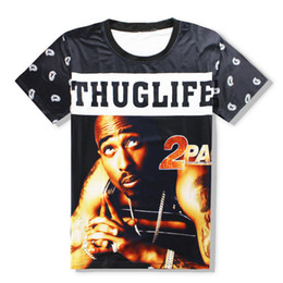 biggie shirts NZ - Rapper Tupac 2Pac Biggie Women Men New Fashion Summer Unisex Funny 3d Print Crewneck Casual T Shirt Tops Tee Q62