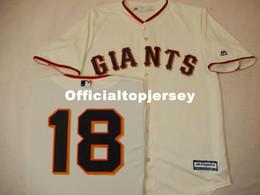 Matt Baseball NZ - Cheap custom MENS MAJESTIC San Francisco #18 MATT CAIN Baseball JERSEY CREME Mens stitched jerseys Big And Tall SIZE XS-6XL For sale