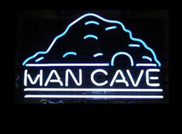 Chinese  Man Cave glass tube Neon Light Sign Home Beer Bar Pub Recreation Room Game Lights Windows Glass Wall Signs 17*14 inches manufacturers