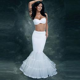 $enCountryForm.capitalKeyWord Australia - 2018 Cheap One Hoop Flounced Mermaid Petticoats Bridal Crinoline For Mermaid Wedding Prom Dresses Wedding Accessories