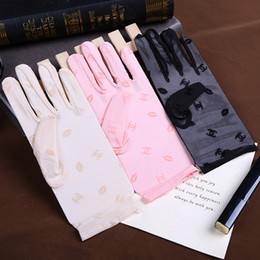 Vente en gros Fingers Dentelle Printemps Lady Gants Femmes Gants Protection contre le soleil