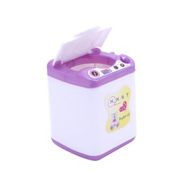 China 2018 New Arrival Doll Accessories Display Furniture Washing Machine Water Dispenser For Doll House For Toys Gift cheap machines houses suppliers