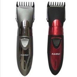 Máquina de corte de cabelo para o bebê mulheres crianças cortes de cabelo 220 V plugue DA UE Homens Barber Navalha Recarregável Barba Aparador de Pêlos Clipper em Promoção