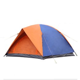 $enCountryForm.capitalKeyWord NZ - HW-04 New! Foldable Double Layers Camping Tent 3-4 Person Outdoor Family Camping for free shipping!