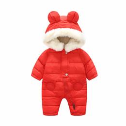 $enCountryForm.capitalKeyWord UK - Baby Parkas Newborn Clothes Autumn Winter Jumpsuit Baby Girls Boys Rompers Overalls Bodysuit Snowsuit Kids Infant Snow Wear